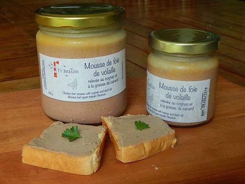 Mousse de foie de volaille - Chicken liver mousse - Mousse hati ayam