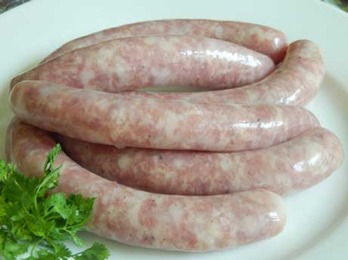 Chipolatas nature - Pork sausages - Sosis babi