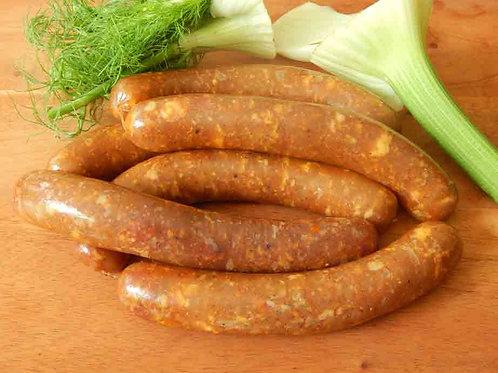 Saucisses de poulet au fenouil - Chicken fennel sausages - Sosis ayam adas
