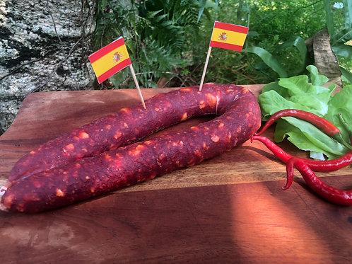 Bâton de Chorizo espagnol.  Spanish chorizo stick
