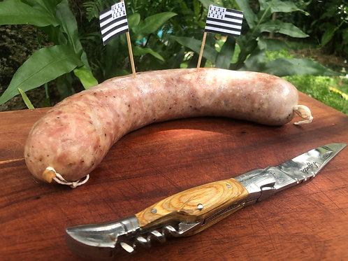 Saucisson à l'ail non fumé - Not smoked garlic saucisson - Saucisson tidak asap