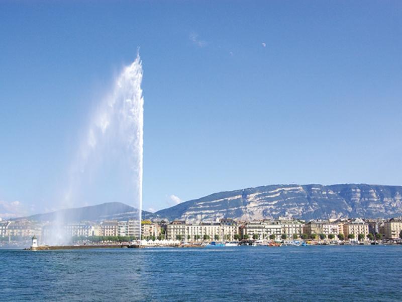 Jet d'eau - Genève