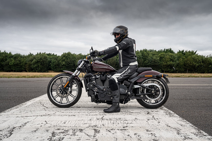 Supercharged Harley Breakout