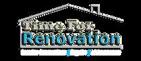 Time for Renovation Logo 2019 white scri