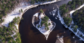 Beat Cabin Fever with a Snowshoe Along the Penobscot