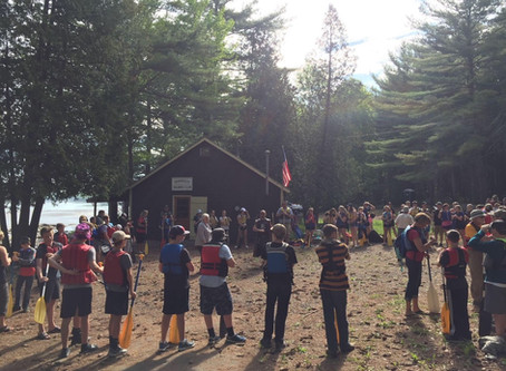 Paddling the Penobscot with Reeds Brook Middle School
