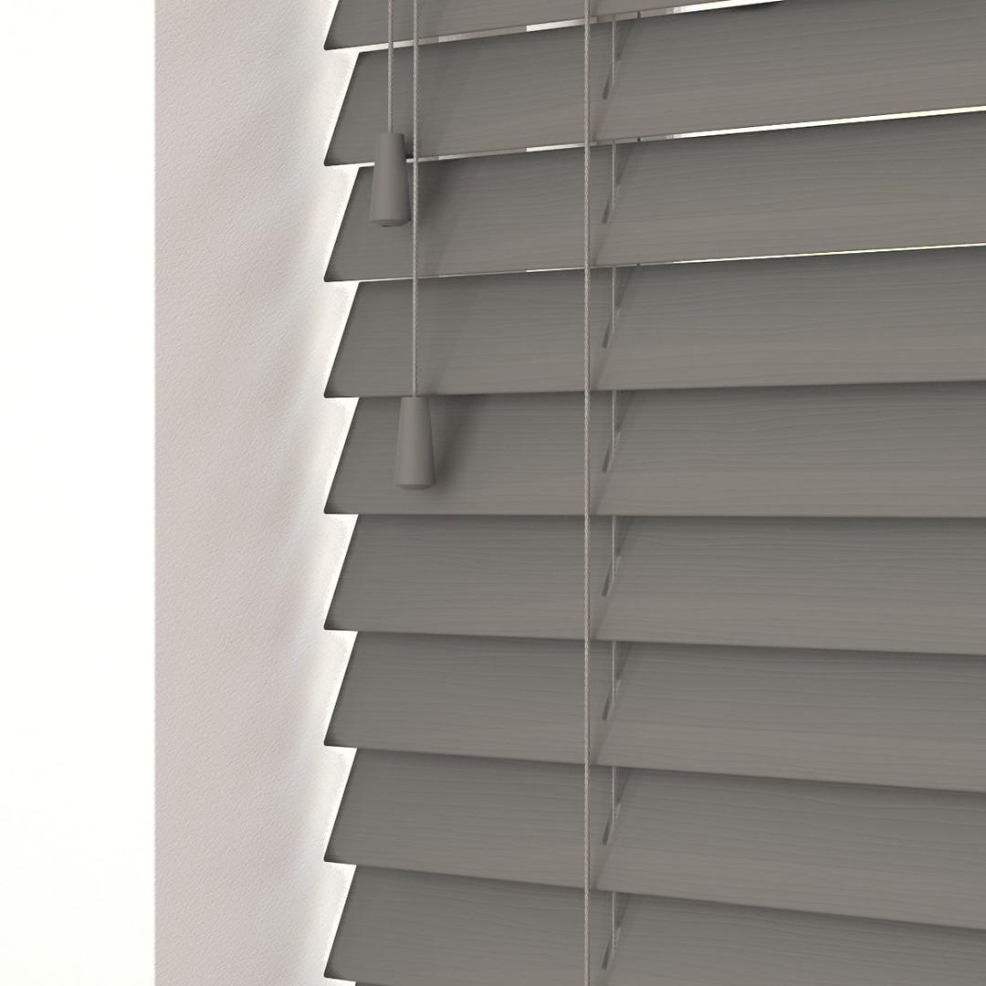 Ecoplas wood venetian blinds .