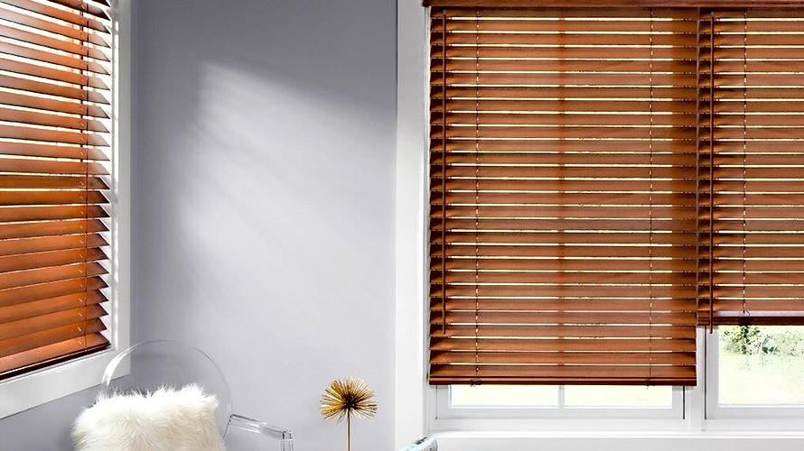 Bamboo Wood Venetian Blind
