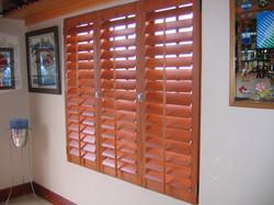 shutters half open