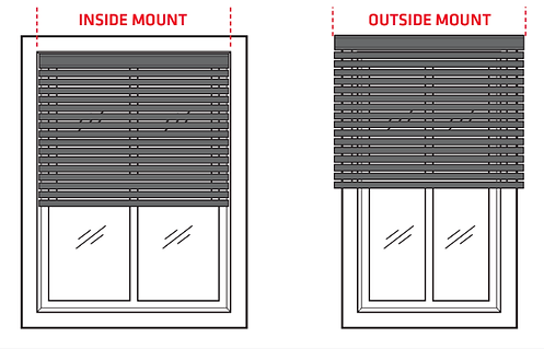 How to measure in mm Inside and outside