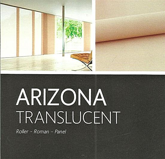 Arizona Translucent & block Out Roller Blinds - Blind Specialist