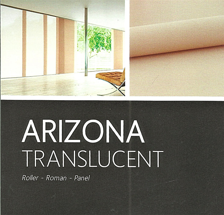 Arizona Translucent & block Out Roller Blinds - Blind Specialist