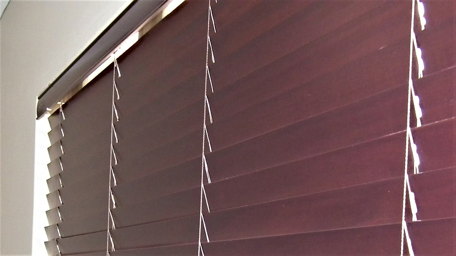 Bass Wood Venetian Blinds - Blind Specia