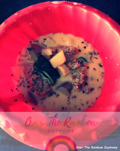 Italian Sausage/Spinach Soup