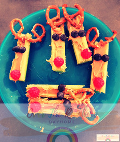 Reindeer Celery Sticks