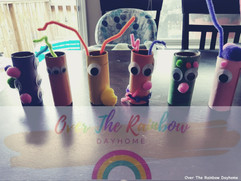 Toilet Paper Roll Monsters