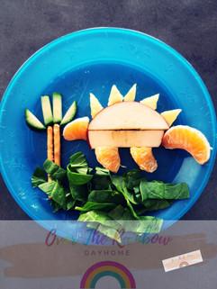 Dino Fruit Plate