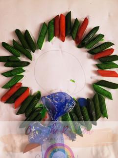 Pasta Wreaths