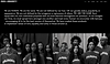 Website showing thumbnail for Rich Minority. Image shows horizontal menu, followed by a text block beneath it. There is a large black and white image of a group of people covering the hp.