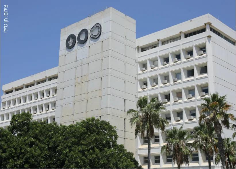 בניין אוניברסיטת תל אביב, צולם על ידי חן גלילי