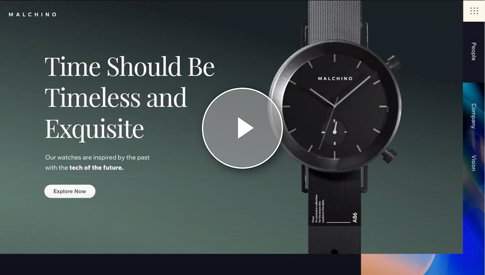 Video tutorial introducing the Editor X workspace with an overview of the responsive layouting and design tools.