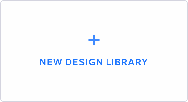 Image showing the box to add a new design library.