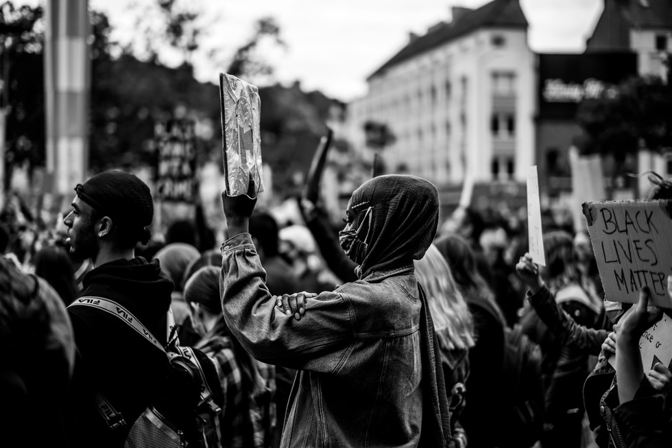 Aachen, Germany - BLM 2020 Protests