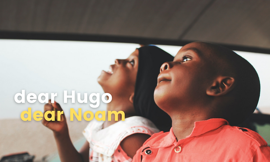 dear hugo dear noam