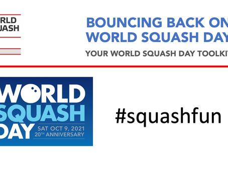 World Squash Day (9 October, 2021)