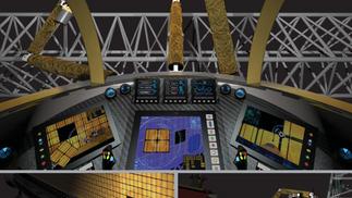 SICSA: Single Person Spacecraft Interior