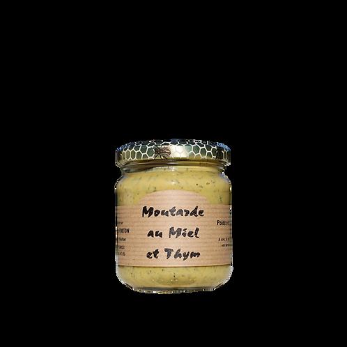 Moutarde au miel et thym