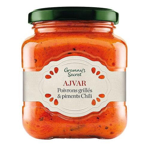 Tartinable poivron rouge pimenté