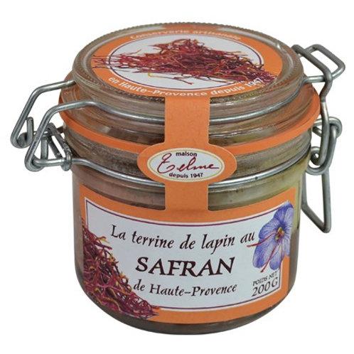 Lapin au safran de Haute Provence
