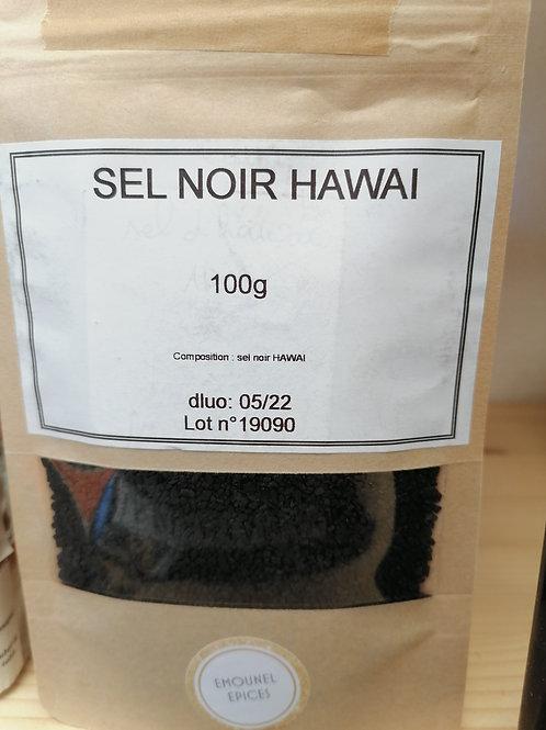 Sel noir d Hawaï