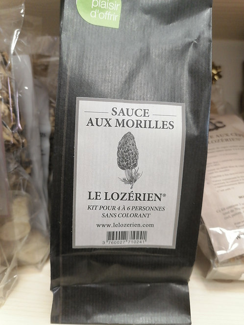 Kit sauce morilles