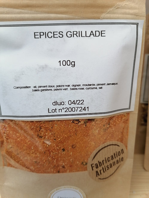Epices grillades barbecue