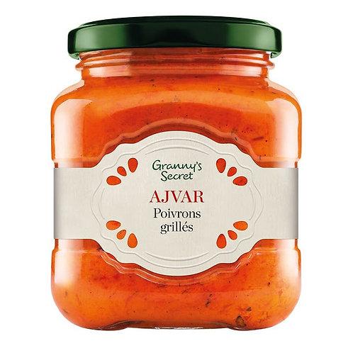 Tartinable poivron rouge grillés