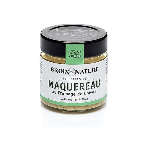 RILLETTES DE MAQUEREAU AU FROMAGE DE CHÈVRE
