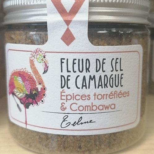 Fleur de sel de Camargue épices torréfiées et combawa