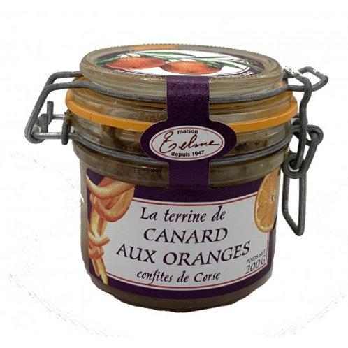 Terrine de canard aux oranges