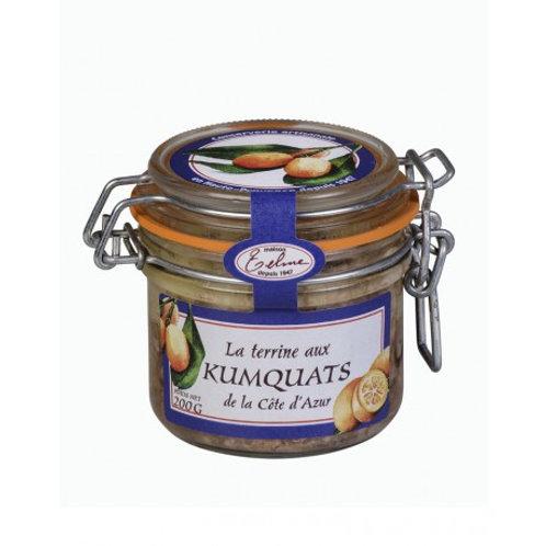 Terrine aux kumquats de la Côte d'Azur
