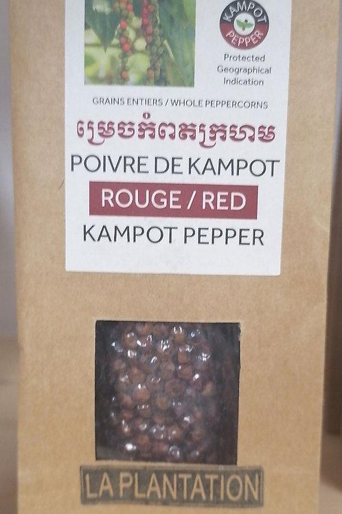 Poivre de KAMPOT rouge 50g