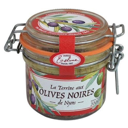 Terrine aux olives de NYONS