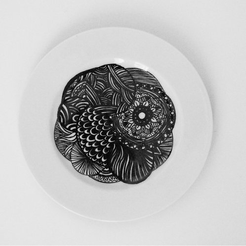 Plate rond M