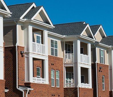 Low delinquency of Rents make multifamily lending available.