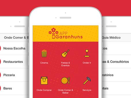 App Garanhuns está com novo design e muitas outras novidades!