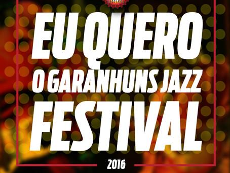 Arretada Comunicação cria imagem em apoio ao Garanhuns Jazz Festival