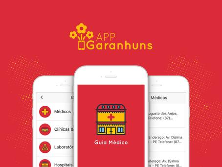 Com o App Garanhuns, cuidar da sua saúde ficou mais fácil!