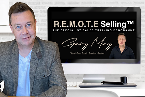 The REMOTE Selling™️ Programme - Individual