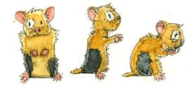 Characterdesign Hamster